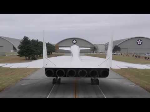 North American XB-70 Valkyrie Moves Into Museum's Fourth Building