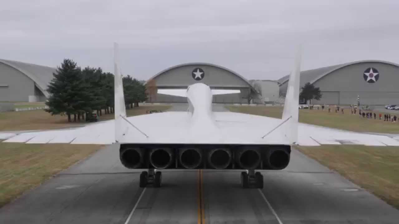 North American XB70 Valkyrie Moves Into Museums Fourth Building  YouTube