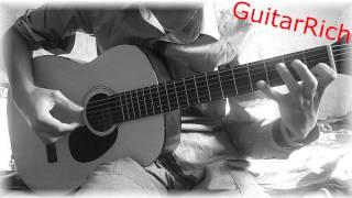 Несчастный случай - Генералы песчаных карьер на гитаре (cover) соло перебор