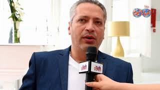 أخبار اليوم |تامر أمين : عشقي للمغرب بلا حدود  وبرنامجي الحياة اليوم يعود بعد رمضان