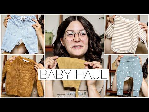 Gender Neutral Baby Clothing Haul || H&M, Zara, & Quincy Mae