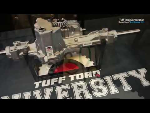 Tuff Torq K58 Axle Seal Replacement