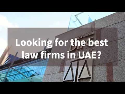 Best law firms in UAE
