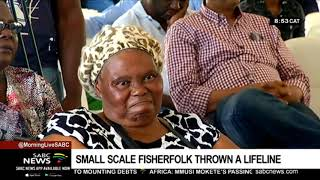Small scale fishing industries receive a lifeline
