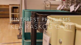 Pinterest Problems: Ikea Raskog Cart