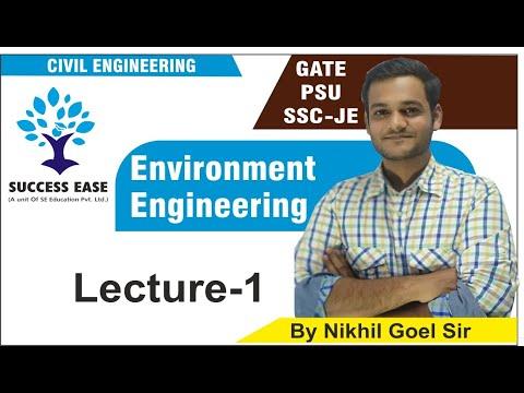 Lec- 01 | Environment By Nikhil Sir |Civil Engg.| GATE | PSU | SSC JE ||SUCCESS EASE ||