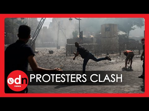 Lebanon Protesters Clash