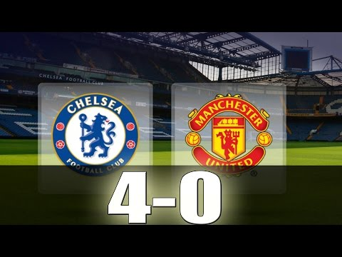 Chelsea vs Manchester United 4-0 - All Goals & Extended Highlights - Premier League 23/10/2016 HD