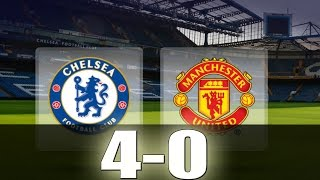 Chelsea vs Manchester United 4-0 - All Goals  Extended Highlights - Premier League 23102016 HD