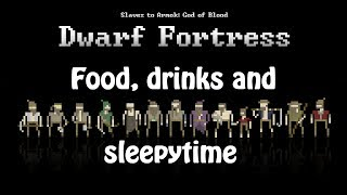 Let's Learn: Dwarf Fortress (04) - Farming, lodging and drinks!