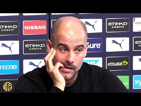 Pep Guardiola EMBARGOED Pre-Match Press Conference - Man City v Everton - Premier League