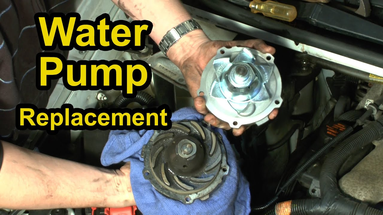 hight resolution of water pump replacement chevy 3 4l v6 step by step instructions