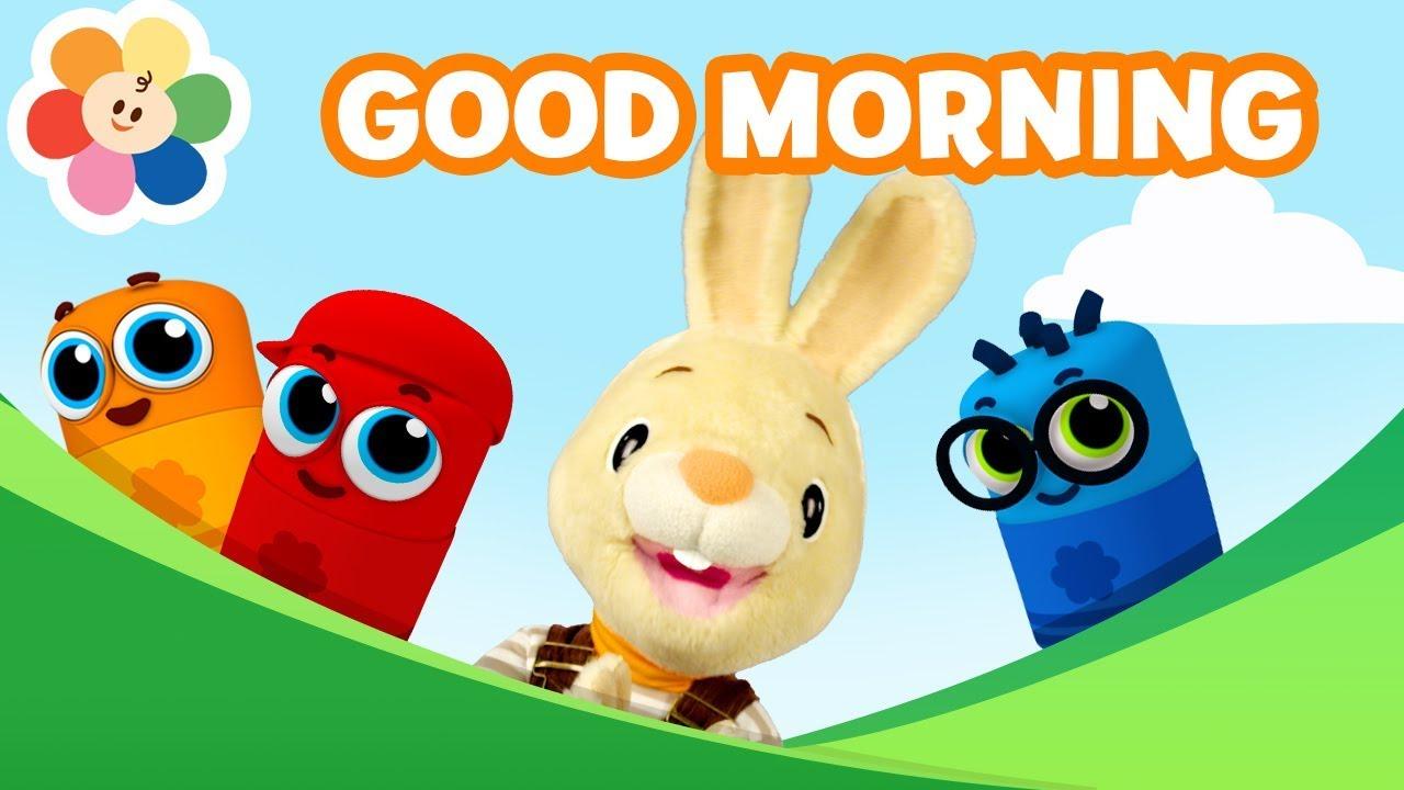 Good Morning Song   Nursery Rhymes For Kids & Baby Songs ...