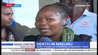 Death in Nakuru: Body found in a premise in Nakuru town