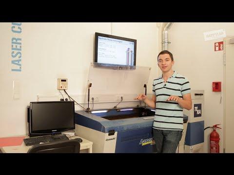 GCC Laser Cutter: Einschulung
