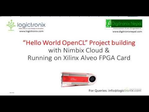 Digitronix Nepal: SDAccel Development for Xilinx Alveo FPGA
