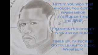 Complicated 50 Cent (dirty version) - Lyrics on screen