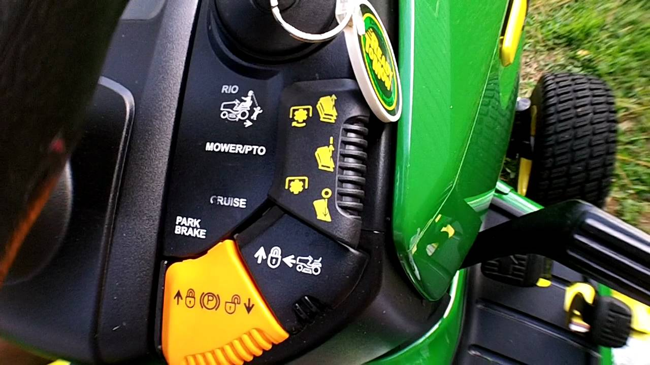 john deere x500 safety disable [ 1280 x 720 Pixel ]