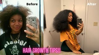MY TOP TIPS to GROW LONG HEALTHY NATURAL HAIR | Mocurlsss