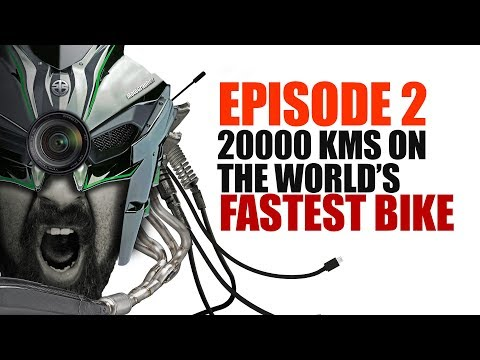 Ep2 :: 20000KMS On Two Of The World's Fastest Bikes ( Ninja H2 And Panigale 1299 )