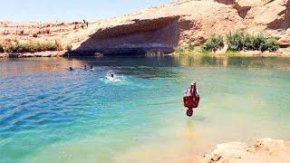 Озеро в Тунисе возникло за 1 день. Феномен в пустыне
