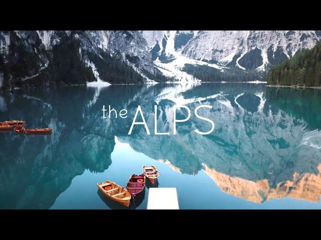 The Alps in 4K by Drone