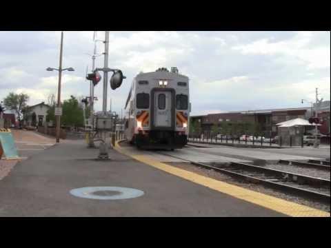 [HD] New Mexico 'Rail Runner' Express- Santa Fe, NM