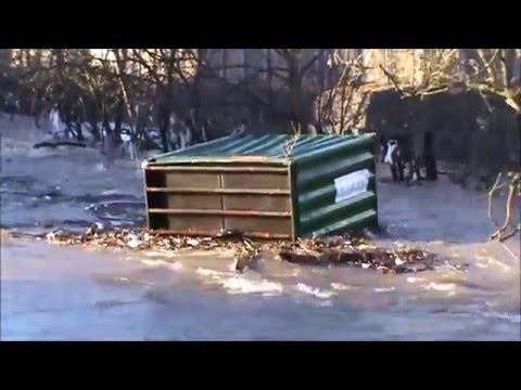 Baildon/Shipley/Saltaire  Floods - 26th & 27th December 2015