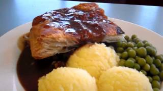 Steak Pie Horse Shoe Cafe Abernyte Road Near Inchture Perthshire Scotland