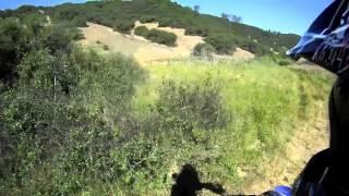 05' Yamaha Raptor 660r - Cow Mountain Trail Riding - POV HD