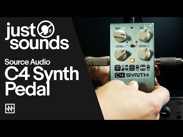 Just Sounds: Source Audio C4 Synth Pedal – DnB Workout