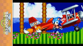 Cutscenes in Sonic 2! [Sprite animation]
