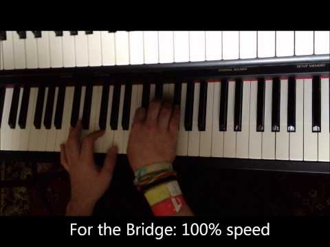 Piano tutorial Schism - Tool