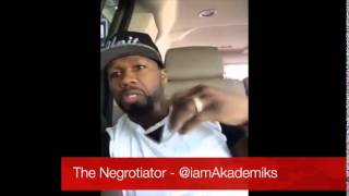 50 Cent Says Slowbucks Got his Jaw Broken and his Chain was Fake that was Snatched!