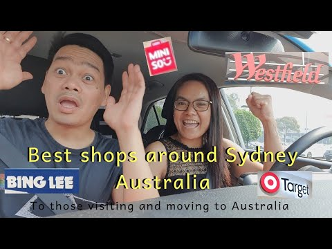 Where To Shop Around Sydney Australia?