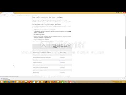 How to update Microsoft Windows Defender | Error code: 0x80004004