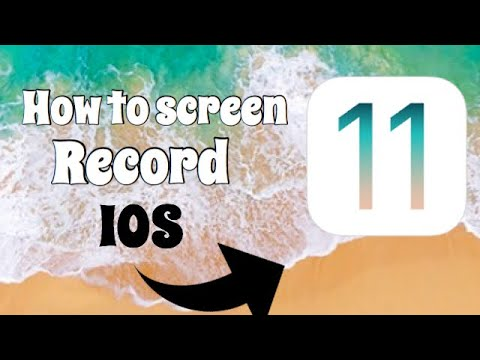 How to screen record/IOS11❤️
