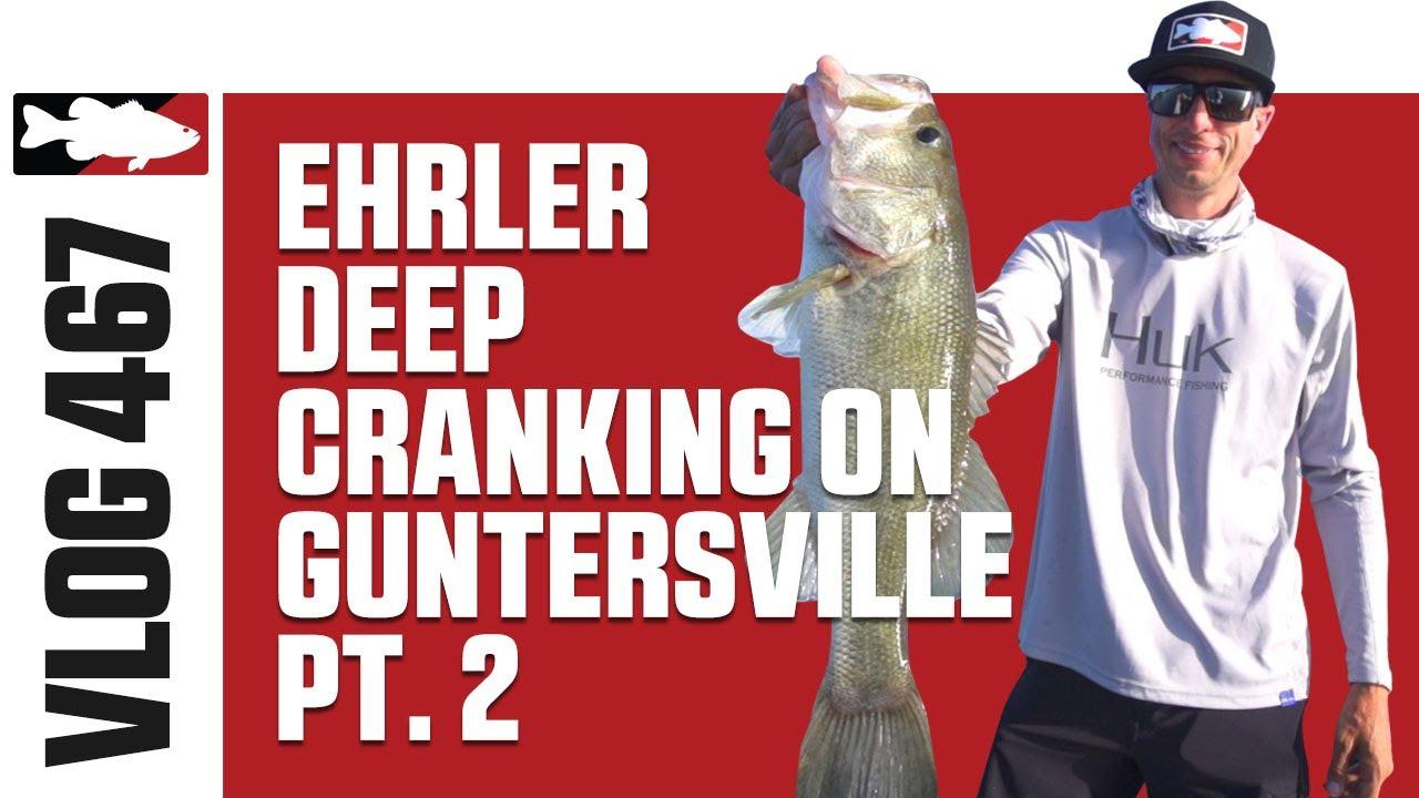 Video Vault - Deep Crankin' on Guntersville with Brent Ehrler Pt  2