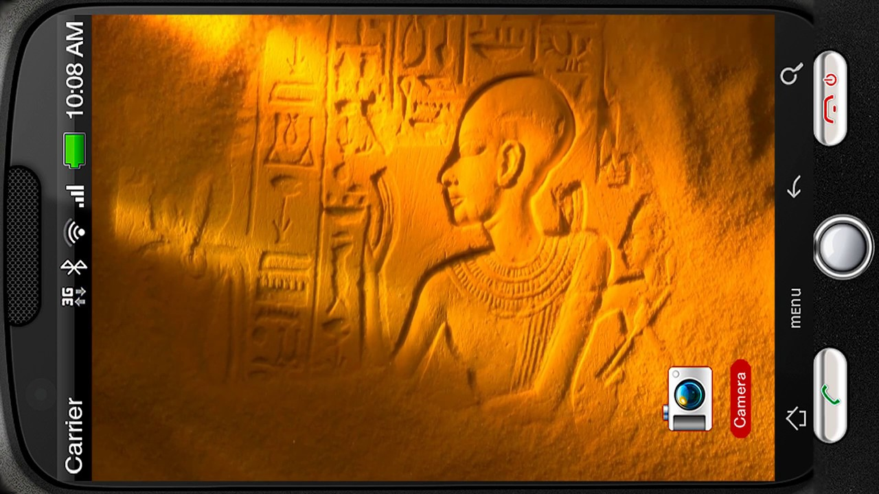 Mystery Egyptian Hieroglyphs Deluxe HD Edition 3D Live Wallpaper For Android