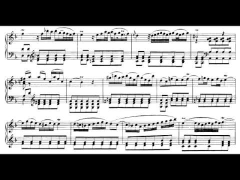 JSBach  Alessandro Marcello BWV 974 adagio on piano, with score  sheet music