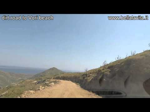 Andros 2015 , dirt road to Vori beach