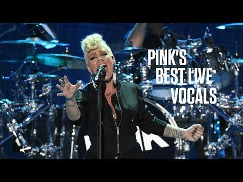 Pink's Best Live Vocals