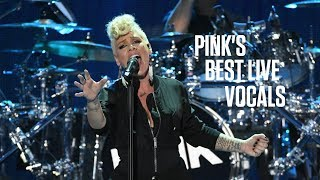 Pink's Best Live Vocals