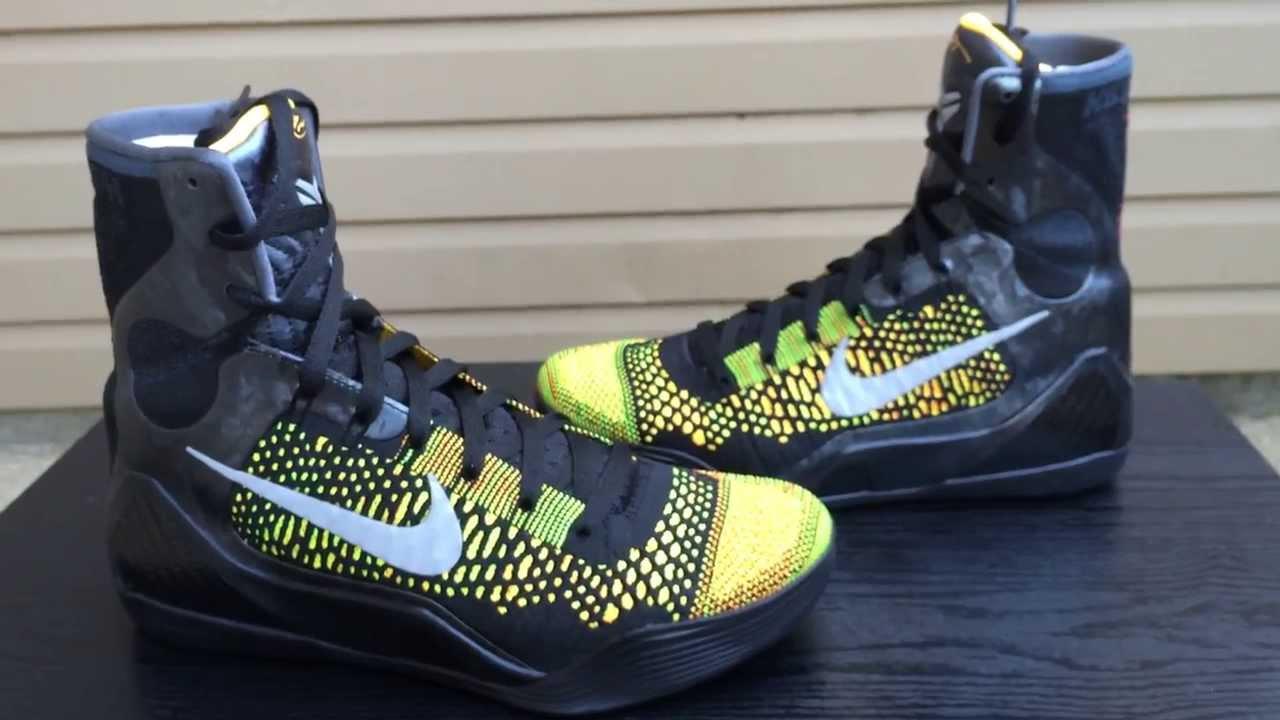 First Look: Kobe 9 Inspire + On foot