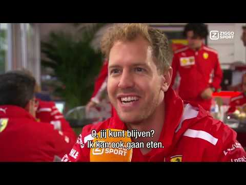F1 2018 | USGP - Sebastian Vettel Interview with Ziggo Sport