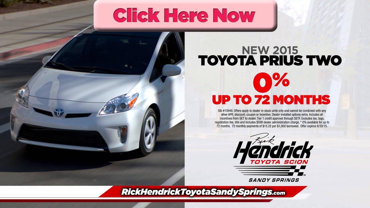Amazing Rick Hendrick Toyota Of Sandy Springs Prius Preroll