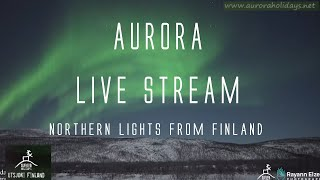 AURORA LiveStream From Finland! Northern Lights Live (11th January 2021)