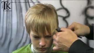 Boy oh boy I cut my hair! Job