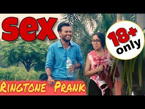 Sex Ringtone Prank on HOT Girls | Prank in India 2017 | Chillar prank