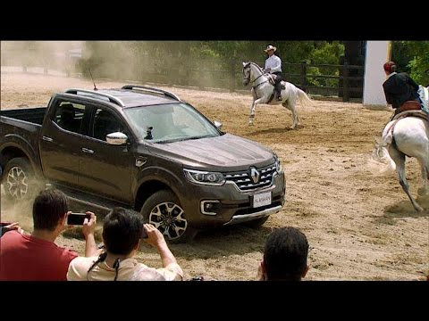 Renault Alaskan media reveal event